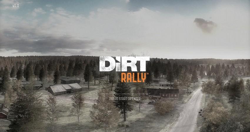 Start DiRT Rally