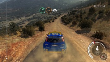 Dohled v DiRT Rally