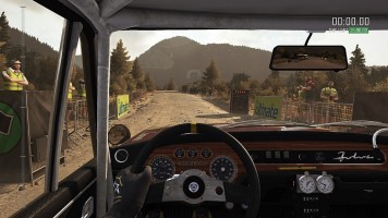 Kabina v DiRT Rally