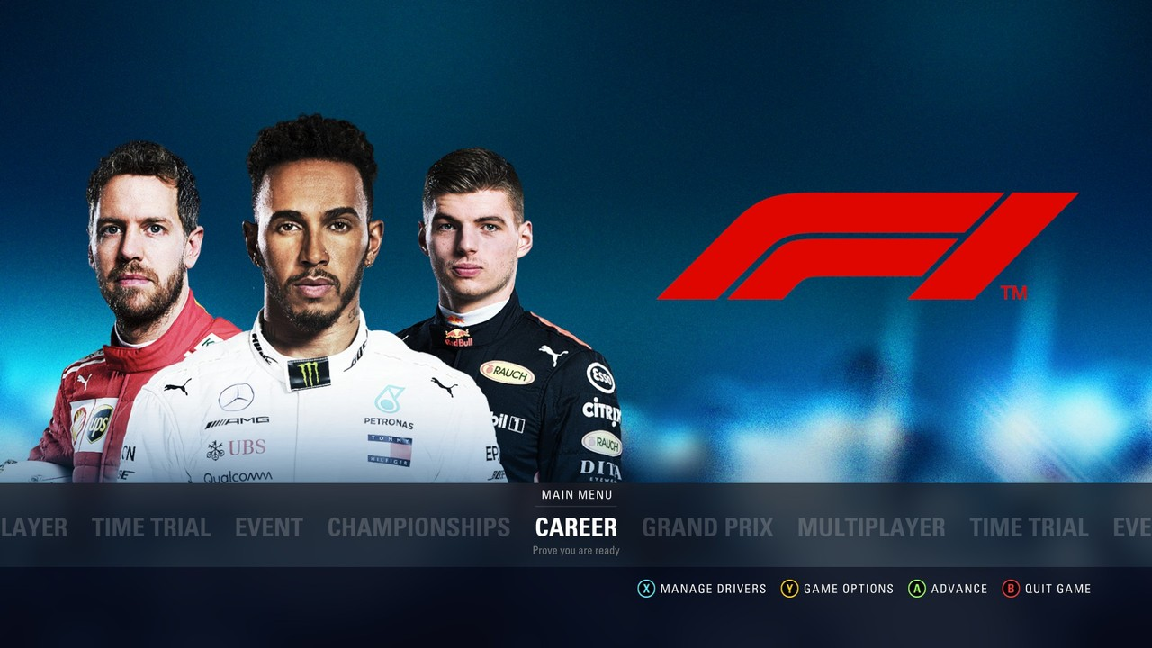 Všechny jízdní režimy F1 2018