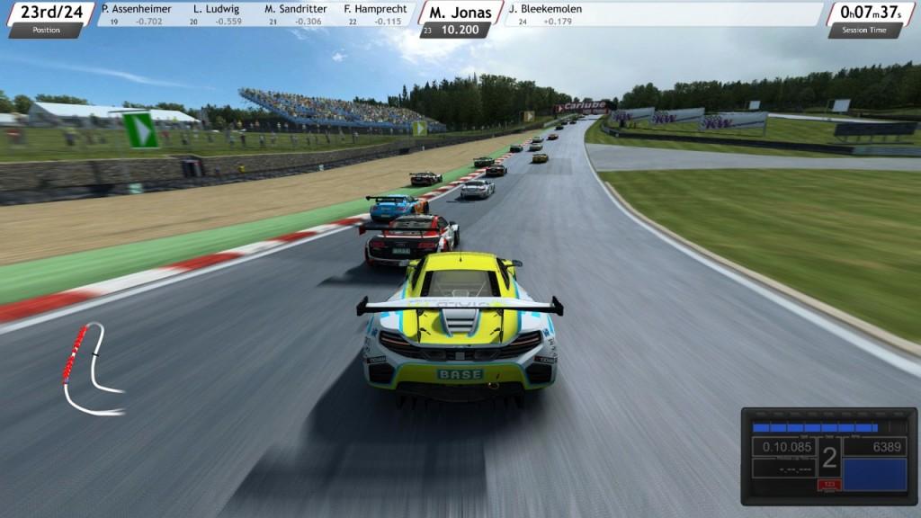 Závod Adac GT Masters v Brands Hatch
