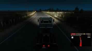 American Truck Simulator night