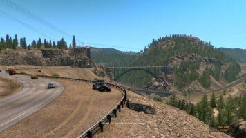 American Truck Simulator bridge