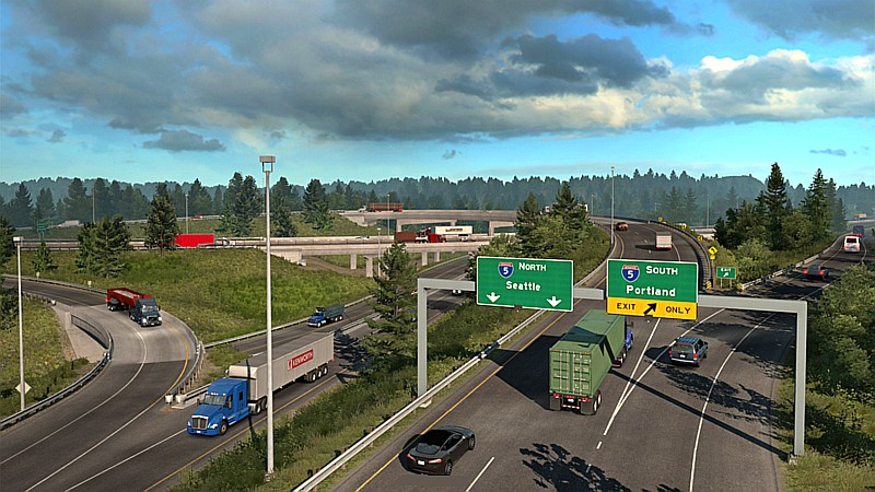 Mapa Washington pro American Truck Simulator