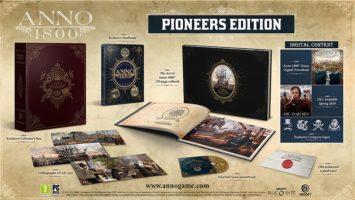 Obsah Pioneers Edition ANNO 1800