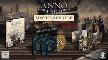 Obsah Special Edition ANNO 1800