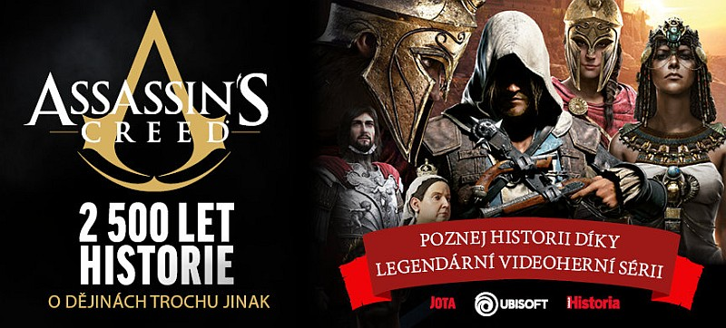 assassins creed – 2 500 let historie promo