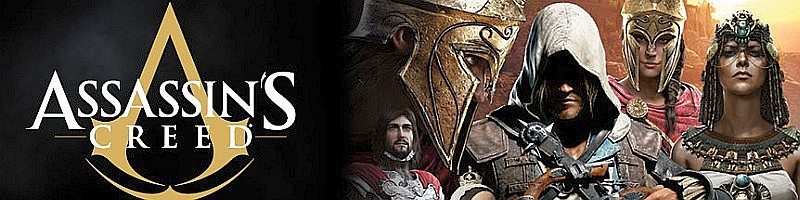assassins creed – 2 500 let historie banner