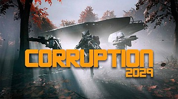 Corruption 2029 logo