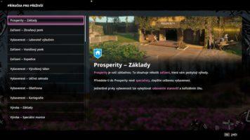 Podrobný průvodce hrou nahrazuje manuál.
