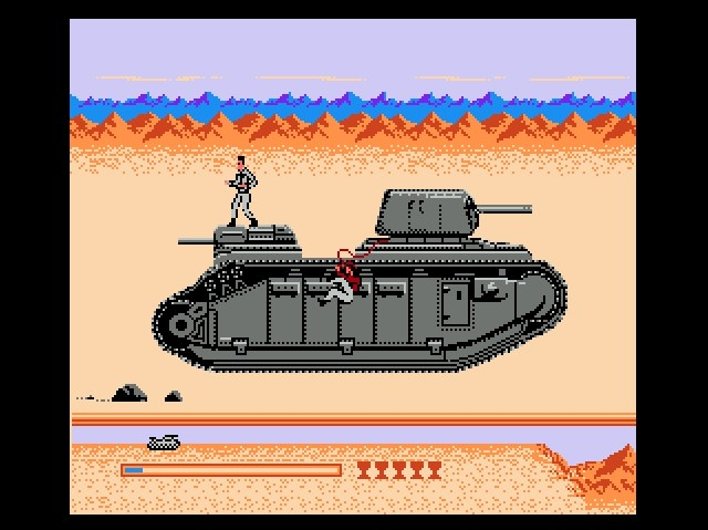 the last crusade nes game