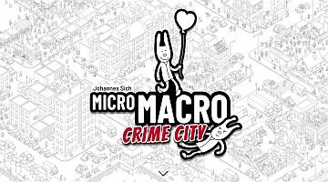 micro macro crime city logo