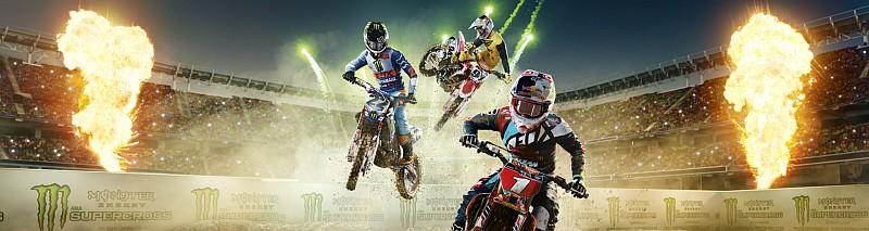 Monster Energy Supercross banner