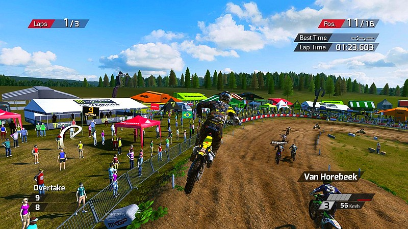 MXGP Screen Gameplay