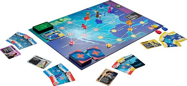 pandemic hot zone board