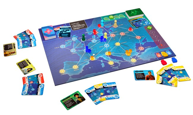 pandemic hot zone europe board