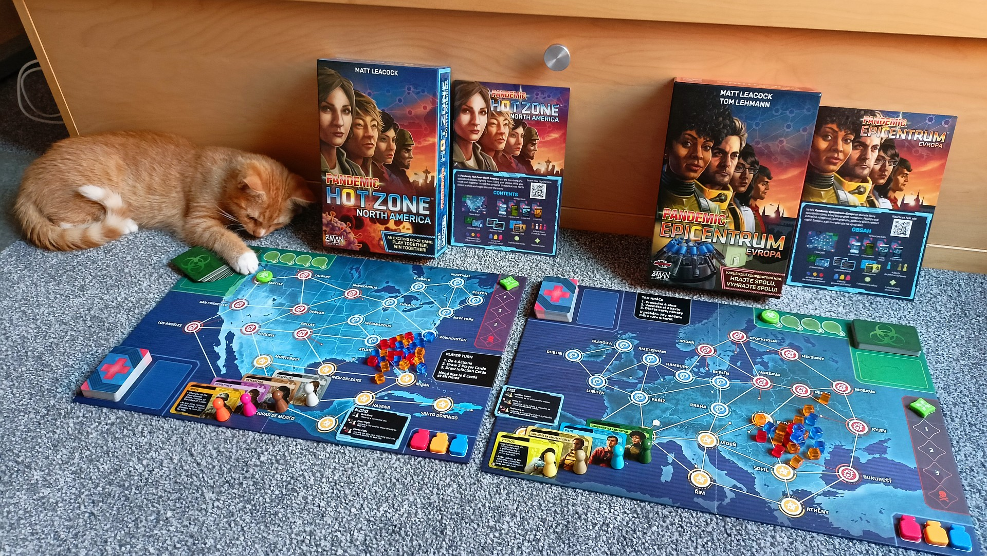 pandemic hot zone games