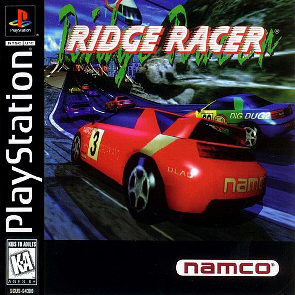 Ridge Racer Box