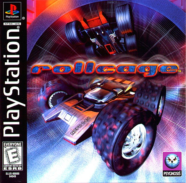 Rollcage PlayStation Cover