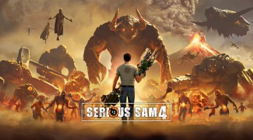 Serious Sam 4 logo