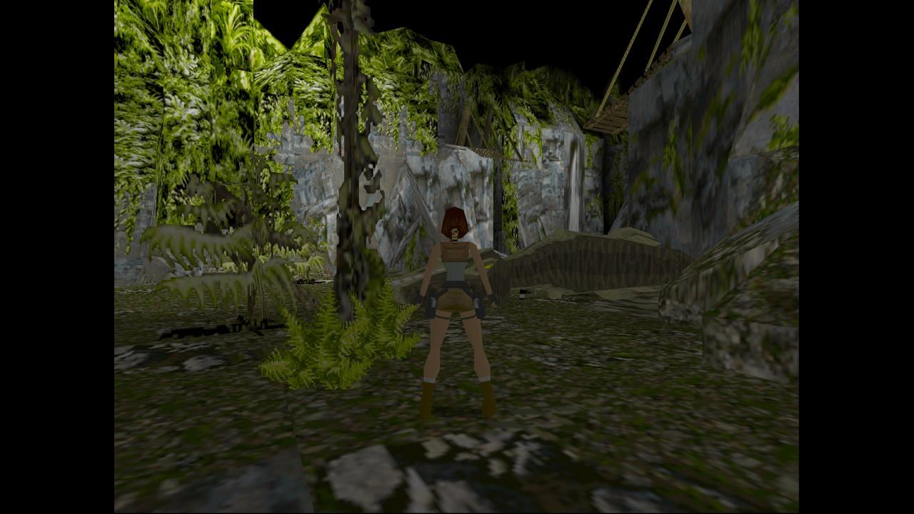 Level 3 - The Lost Valley (ztracené údolí): Hned po zabití tyranosaura